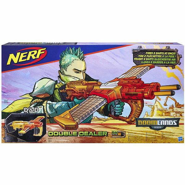 《 NERF 樂活打擊 》救世系列 - 雙重側擊