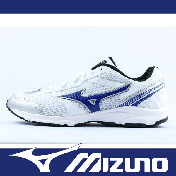萬特戶外運動 MIZUNO K1GA161225 男慢跑鞋 MAXIMIZER 18 寬楦 基本款 學生鞋 白藍色