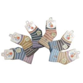 【淘氣寶寶】比得兔防滑精繡寬口寶寶襪9-12公分SK3861