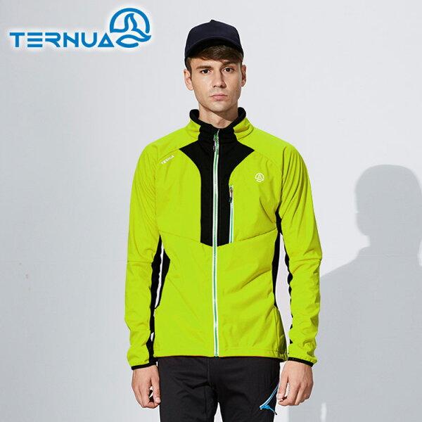 【西班牙TERNUA】男WINDSHELL防風保暖外套1642783(M-XL)城市綠洲(透氣、快乾、輕量、防曬、防潑水)