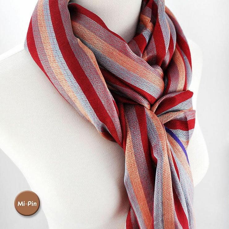 喀什米爾Pashmina圍巾-俐落條紋-共4色
