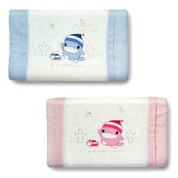 KU KU 酷咕鴨 涼感兒童枕(藍/粉)【悅兒園婦幼生活館】