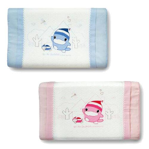 KUKU酷咕鴨涼感兒童枕(藍粉)【悅兒園婦幼生活館】