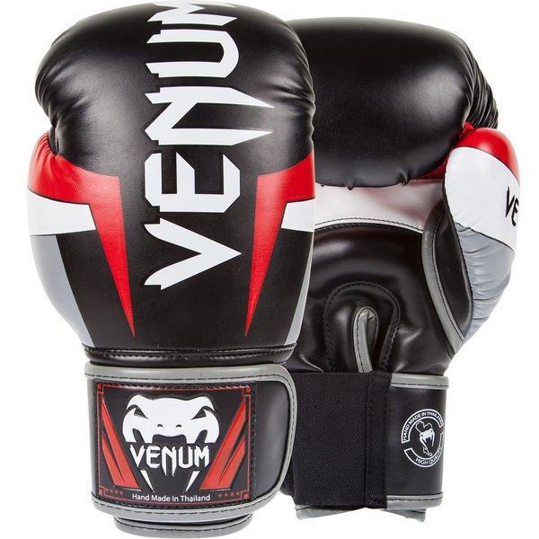 [古川小夫]黑色手工皮革拳擊手套~MMA名牌VENUM16oz菁英拳擊手套~VENUM皮革拳套16oz