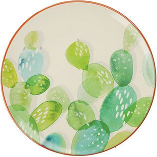 《CreativeTops》Drift淺餐盤(仙人掌20.5cm)