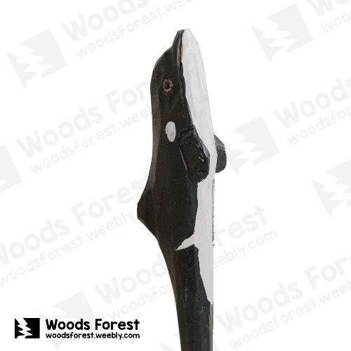 Woods Forest 木雕森林 - 手工動物木雕筆【殺人鯨】