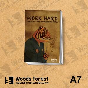 【我們約會吧!】木雕森林 A7你手記本(筆記本)【工作虎】