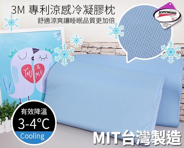 3M專利涼感冷凝膠枕《GiGi居家寢飾生活館》
