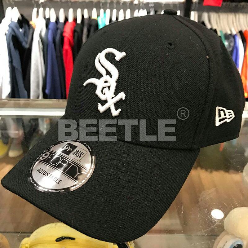 美國進口 BEETLE MLB NEW ERA 芝加哥 白襪 WHITE SOX 黑白 老帽 棒球 大聯盟 魔鬼氈 940 NE-85 0
