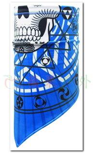 【【蘋果戶外】】BF111071BUFFKETTEN防潑抗風保暖斜三角巾骷顱隱士脖圍巾口罩冬季魔術頭巾