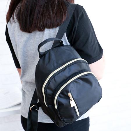 韓版時尚牛津布雙肩小背包背包小背包百搭尼龍雙肩後背【N202919】