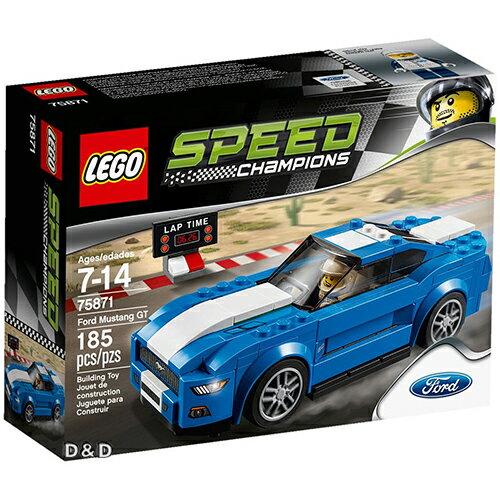 樂高積木 LEGO《 LT75871 》SPEED CHAMPIONS 系列 - Ford Mustang GT