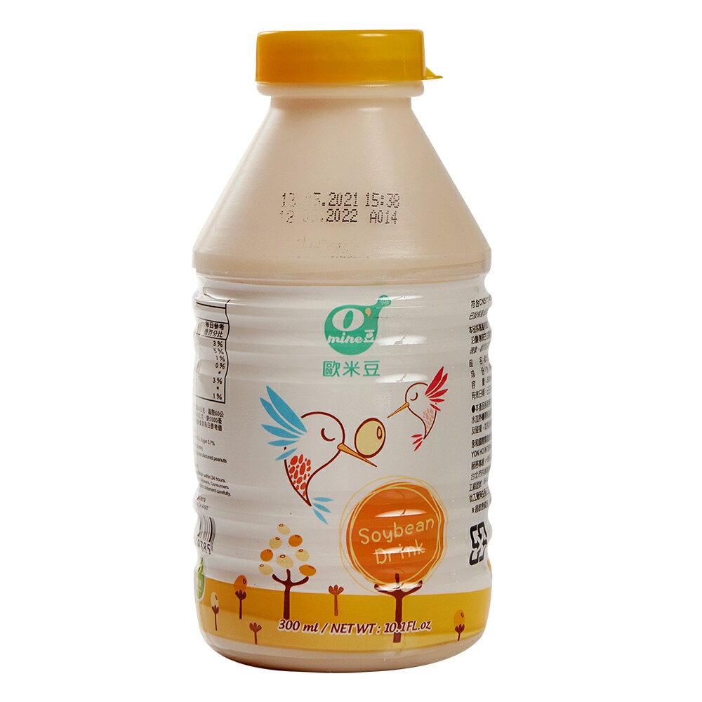[箱購]歐米豆豆奶300ml/瓶*24/箱