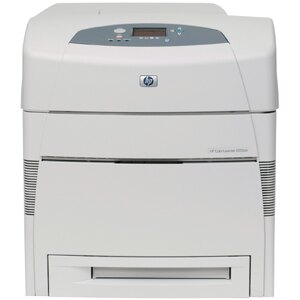HP LaserJet 5550DN Laser Printer - Color - 600 x 600 dpi Print - Plain Paper Print - Desktop - 27 ppm Mono / 27 ppm Color Print - Letter, Legal, Executive, Ledger, Envelope No. 10, Monarch Envelope, Custom Size - 600 sheets Standard Input Capacity - 12000 1