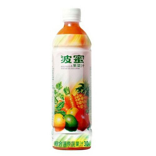 波蜜 果菜汁 580ml