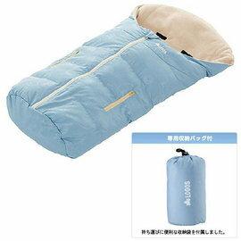 【鄉野情戶外專業】 LOGOS |日本| LOGOS 登山露營/戶外休閒/嬰兒丸洗睡袋/幼兒睡袋(可與嬰兒車結合) 藍 LG72600330
