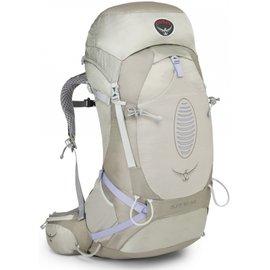 【鄉野情戶外專業】 Osprey |美國|  Aura 50 AG 網架輕量登山背包 休閒 健行 登山 旅行背包 -銀S_Aura50AG-SS