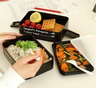 (預購) 創意手提 微波爐 便當盒 日式飯盒 創意多層(2層)