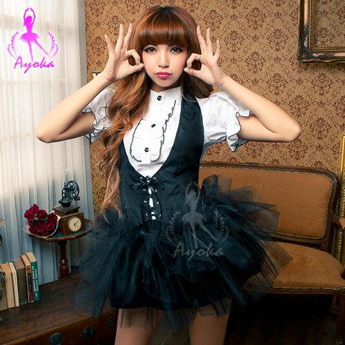 亞娜絲精品館:情趣用品Cosplay服裝夢想少女!三件式角色扮演聖誕節變裝派對交換禮物