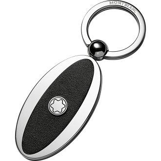 萬寶龍MONTBLANC-橢圓型金屬鑰匙圈-114563