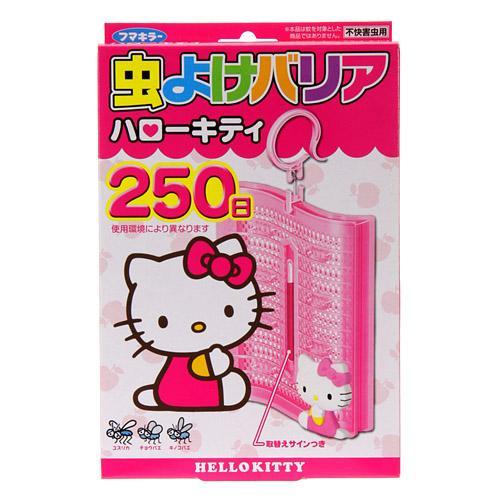 【百倉日本舖】日本製 Kitty防蟲掛片/防蚊掛片250日-微香