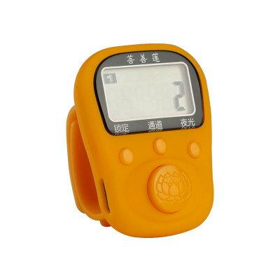 念佛計數器 戒指型 充電LED夜光電子理佛器記數器禮佛 念經計數器『xxs3293』