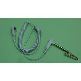 小釦公插捲線(1.8米) -- 用於1.汽車接地、2.銀纖床布/桌墊/椅墊搭用局部加強的環類/貼片