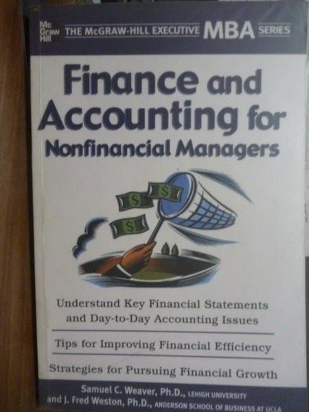 ~書寶 書T7/原文書_QHG~Finance and Accounting for…