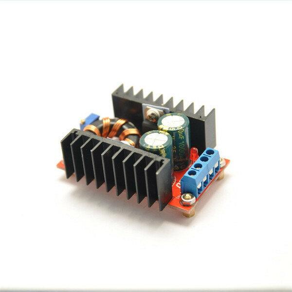 150W升壓模塊DC-DC10-32V轉12-35V可調升壓模組150W