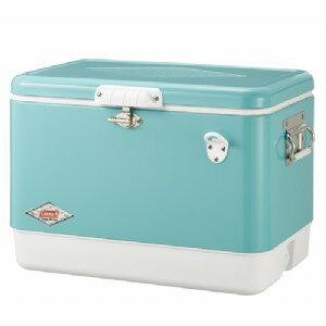【露營趣】中和安坑 送冰桶架 Coleman CM-03739 51L美國藍經典鋼甲冰箱 行動冰箱 冰桶 露營冰桶