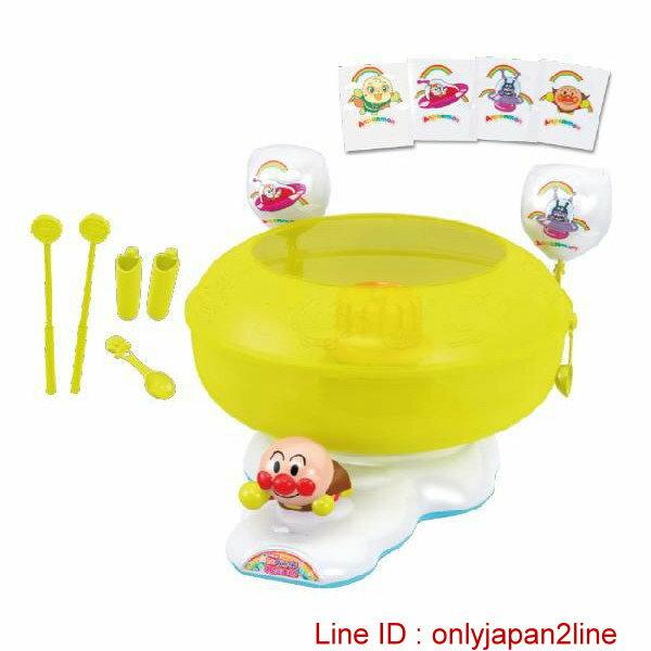 真愛日本:【真愛日本】16122000009棉花糖機-AP電視卡通麵包超人細菌人兒童玩具正品限量