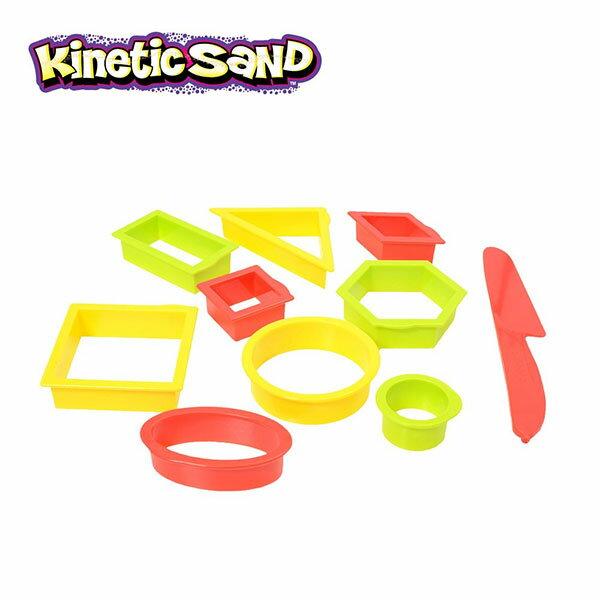 【瑞典KineticSand動力沙】多元形狀模具組