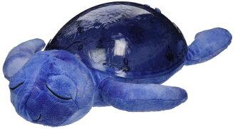 美國 cloud b 海波紋紫色海龜(寶貝舒眠星光音樂夜燈) 寧靜的旋律/ 海浪 *夏日微風*