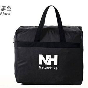 美麗大街【CP105111204】NH旅行露營行李箱 45L超大容量收納整裡袋 黑色