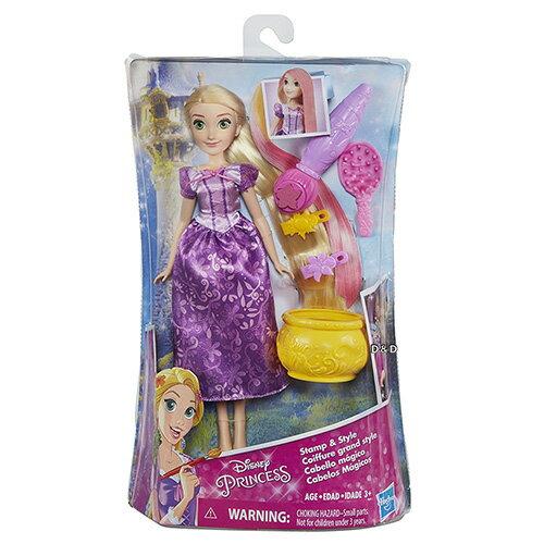 《Disney迪士尼》公主樂佩長髮變色遊戲組