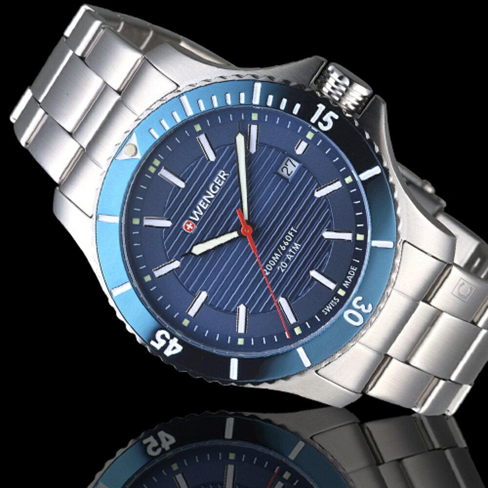 瑞士WENGER  Seaforce海勢系列 征服怒海潛水腕錶 01.0641.120