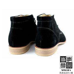 寺孝良品 英倫摩登牛巴戈沙漠短靴 黑 3