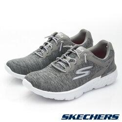 [ALPHA] SKECHERS GO RUN 400 14809GRY 女鞋 跑鞋 GOGA RUN鞋墊