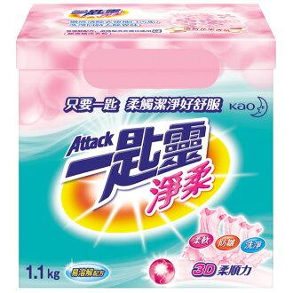 一匙靈 淨柔超濃縮洗衣粉 1.1Kg