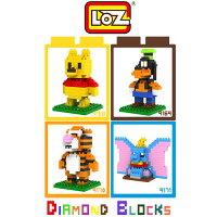 小熊維尼周邊商品推薦LOZ 迷你鑽石小積木 迪士尼 / 小熊維尼 系列 樂高式 組合玩具 益智玩具 原廠正版 大盒款