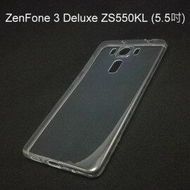 超薄透明軟殼  透明  ASUS ZenFone 3 Deluxe ZS550KL  5.