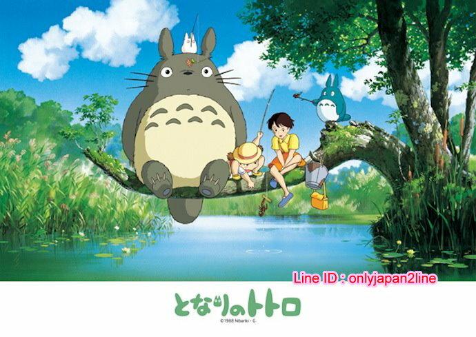 【真愛日本】16110900081拼圖108P-樹上釣魚    龍貓 TOTORO 豆豆龍 玩具 正品 限量 預購