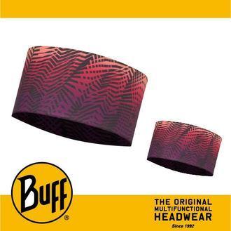 ├登山樂┤西班牙 BUFF 紫黃折線 Coolmax 抗UV頭巾 # BF113650-555