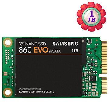 SAMSUNG 1TB 1T mSATA SSD 三星【860 EVO】MZ-M6E1T0BW SATA 6Gb/s 內接式筆電固態硬碟