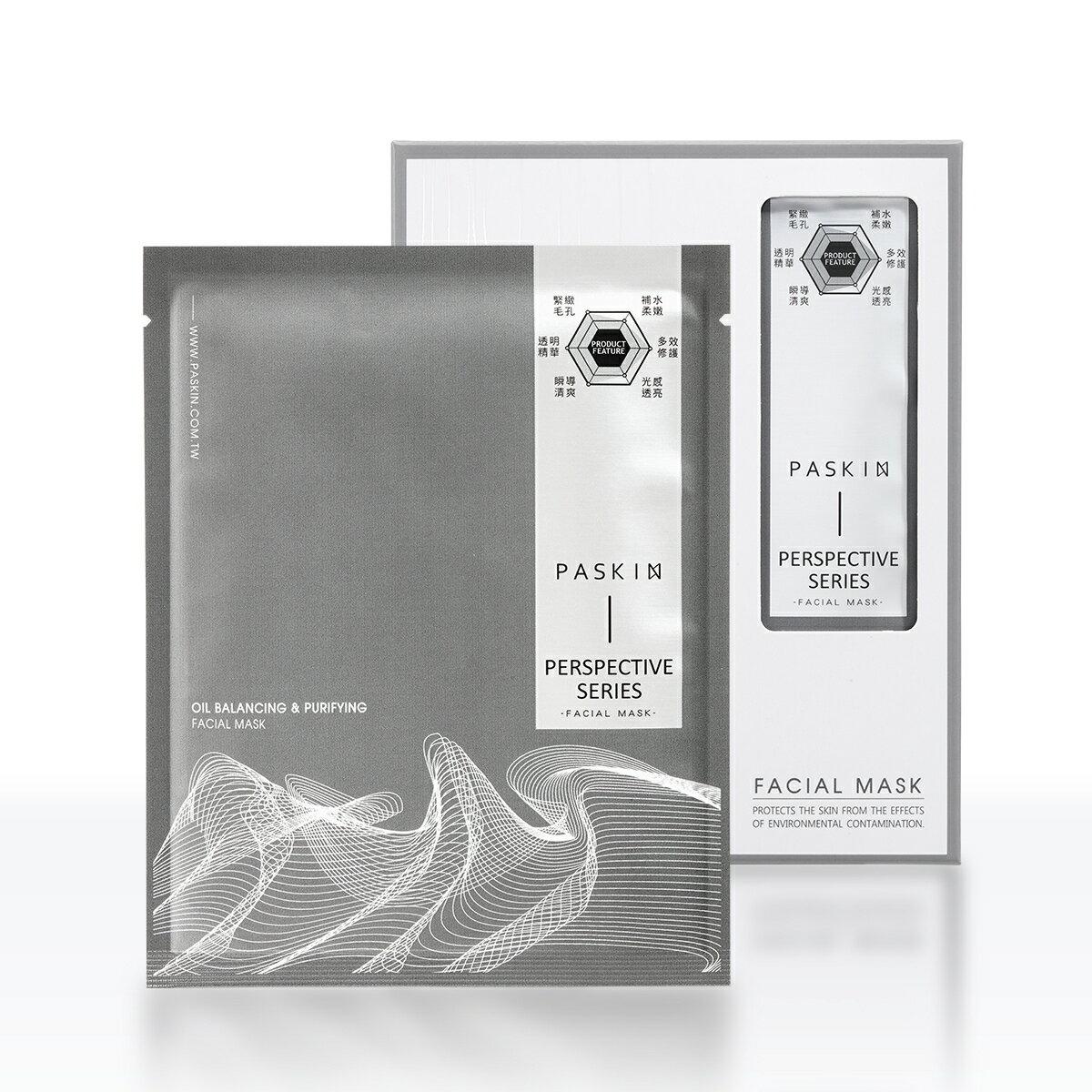 PASKIN面膜 毛孔管理 純淨平衡面膜,6片/盒