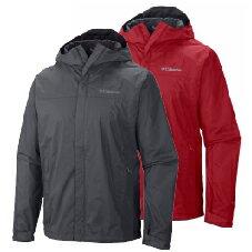 《台南悠活運動家》Columbia 美國 男 Sleeker 防水連帽外套 兩色 24380