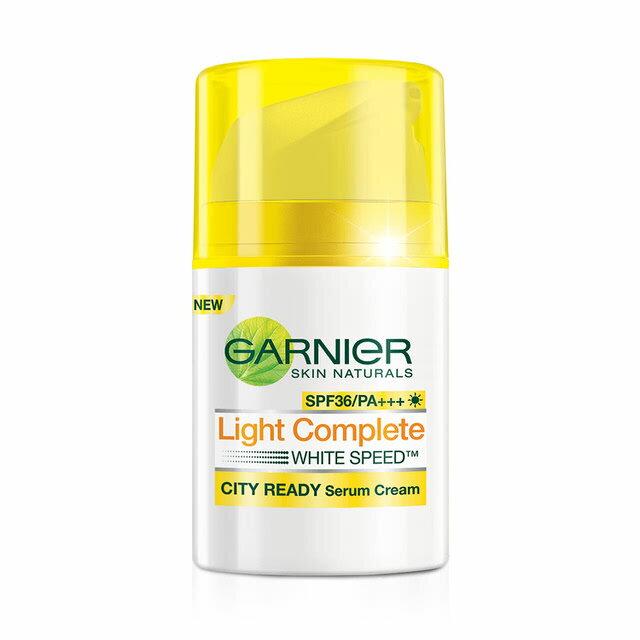 【Garnier 卡尼爾】專業美白防禦精華乳SPF36_50ml(全方位專業美白) 【淨妍美肌】