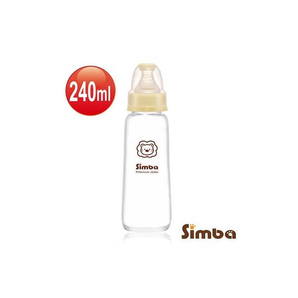 小獅王辛巴 標準玻璃大奶瓶240ml【六甲媽咪】