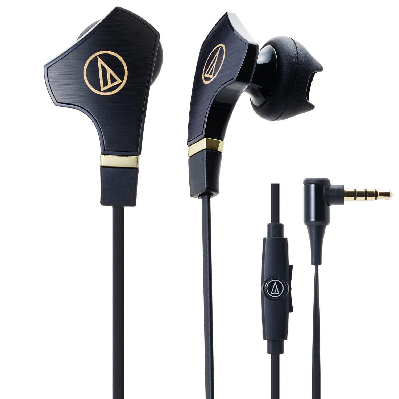 【UNIPRO】美版 鐵三角 ATH-CHX7iS 耳塞式耳機 線控 麥克風 黑色 Audio-Technica