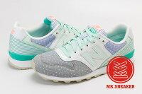 New Balance 美國慢跑鞋/跑步鞋推薦☆Mr.Sneaker☆ New Balance WR996 白綠 996  女鞋